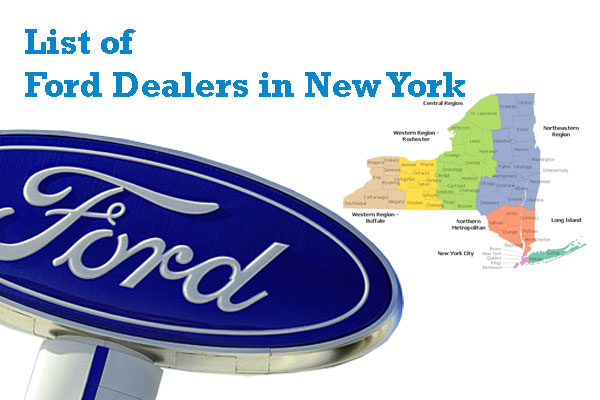 Find Ford Dealers in New York State