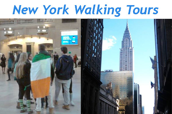 New York Walking Tours - personalized walking tours anywhere in New York City.