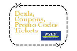 Find Latest Deals, Coupons, Promo Codes and Tickets
