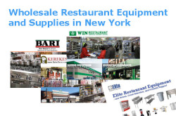 List of Wholesale Restaurant Equipment and Supplies in New York