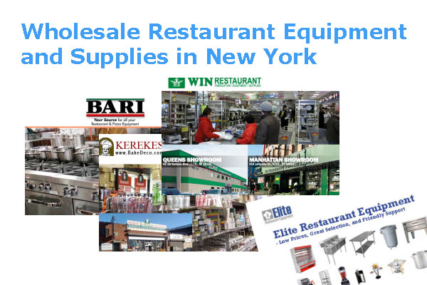 Wholesale Restaurant Equipment and Supplies in New York