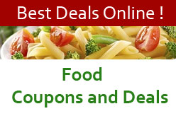 Food Coupon, Promo Codes