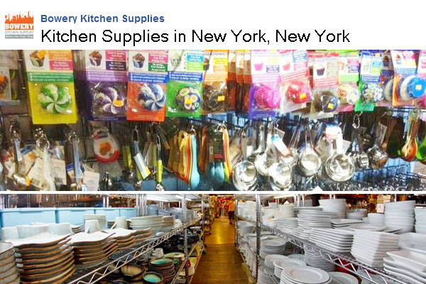 Bowery Kitchen Supplies