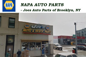 NAPA AUTO PARTS - Joes Auto Parts of Brooklyn, NY