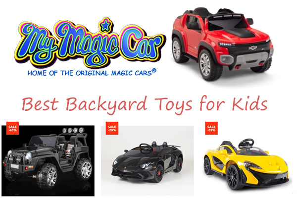 Magic Cars Best Backyard Toys for Kids