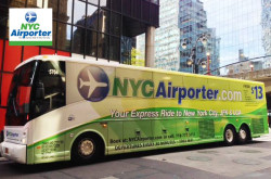 NYC Airporter - Airport Shuttle JFK, LaGuardia and Newark Airports and New York City