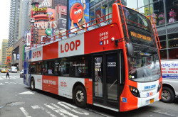 Hop on hop off New York sightseeing bus tour company