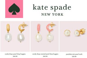 Kate Spade New York Pearl Earrings