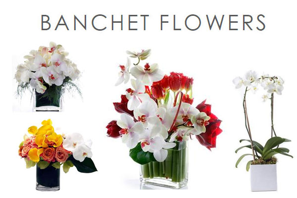 Banchet Flowers New York