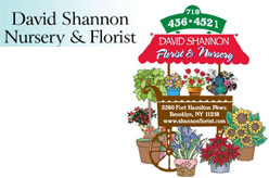 David Shannon Florist & Nursery - 3380 Fort Hamilton Pkwy, Brooklyn, NY 11218