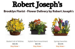 Brooklyn Florist Flower Delivery Robert Josephs
