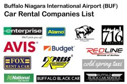 Buffalo Airport BUF Car Rental Companies