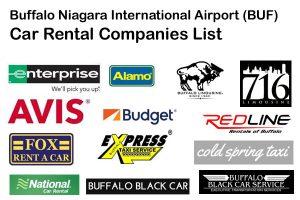 Buffalo Airport BUF Car Rental Companies