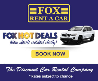 Fox Rent A Car Hot Deals