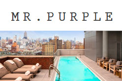 Mr. Purple NYC - Rooftop American Restaurant in NYC