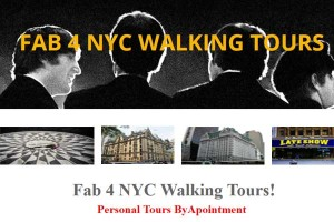 Fab 4 NYC Walking Tours
