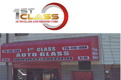 1st Class Auto Glass and Mirror Corp. - Ridgewood, NY 11385