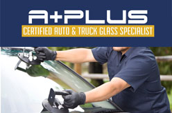 A Plus Certified Auto Glass