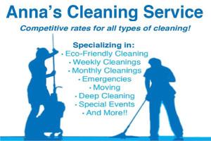 Annas Cleaning Service NY Inc