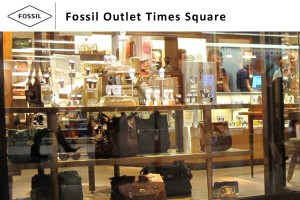 Fossil Outlet Times Square