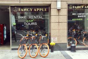 Fancy Apple Bike Rental Tours