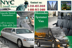NYC Limo Tours - Airport Transfer, Wedding Limo Services in New York