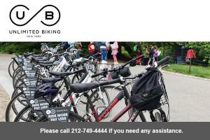 Unlimited Biking - Central Park Bike Rentals