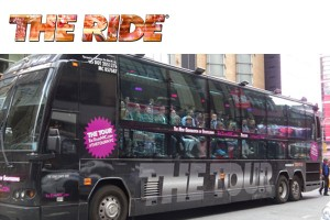 THE RIDE Interactive Bus Tour NYC