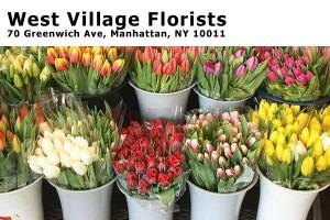 West Village Florist 70 Greenwich Ave