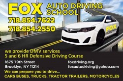 Fox Auto Driving School
