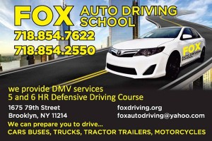 Fox Auto Driving School