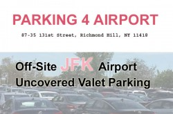 Parking 4 Airport JFK - Uncovered Valet Parking JFK