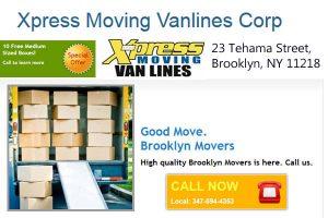 Xpress Moving Vanlines