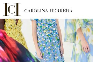 Carolina Herrera print dress
