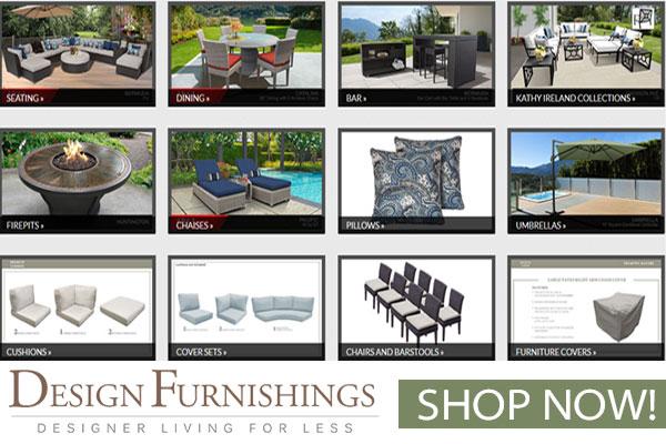 Design Furnishings Outdoor Patio Furniture