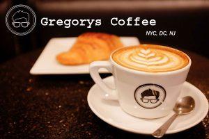Gregorys Coffee NYC DC NJ