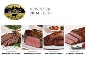New York Prime Beef Steaks