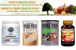 Tony's Health Food