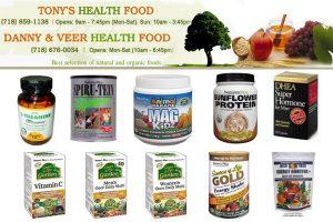 Tony's Health Food Brooklyn NY