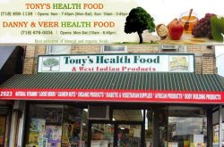 Tony's Health Food Store