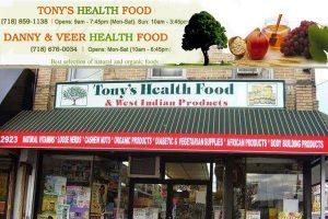 Tony's Health Food Store