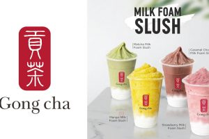 Gong Cha Milk Foam Slush