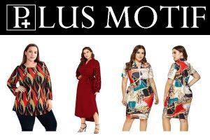 Plus Motif New York Plus Size Clothing