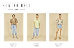 Hunter Bell NYC Tops
