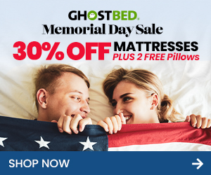 GhostBed-Memorial-Day