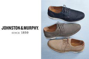 Johnston & Murphy Tumbled Nubuck Shoes